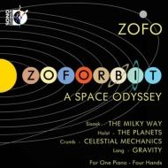 ホルスト:惑星(4手ピアノ版)、シサスク:ミルキー・ウェイ、ラング:グラヴィティ、クラム:『天界の力学』より ZOFOデュエット(+ブルーレイ・オーディオ)