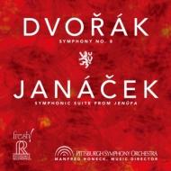 ドヴォルザーク:交響曲第8番、ヤナーチェク:『イェヌーファ』組曲 ホーネック&ピッツバーグ交響楽団