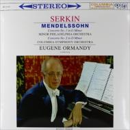 ピアノ協奏曲第1番、第2番:ルドルフ・ゼルキン(ピアノ)、オーマンディ指揮&フィラデルフィア管弦楽団、コロンビア交響楽団 (180グラム重量盤レコード/Speakers Corner)