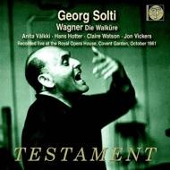 ワーグナー(1813-1883)/Die Walkure: Solti / Royal Opera House Valkki C.watson Hotter Vickers Langdon Gorr