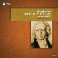 交響曲全集、序曲集 ムーティ&フィラデルフィア管弦楽団(6CD)