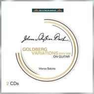 ゴルトベルク変奏曲(ギター独奏版) マルコ・サルチート(2CD)