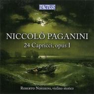 24のカプリース(ピリオド楽器、ガット弦、ピリオド・ボウ使用) ロベルト・ノフェリーニ(2CD)