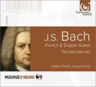 フランス組曲第5番、イギリス組曲第3番、トッカータ、他 フリッシュ(チェンバロ)