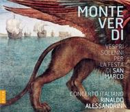 『聖マルコ大聖堂のための晩課』 アレッサンドリーニ&コンチェルト・イタリアーノ(+DVD)