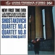 String Quartet, 4, 8, : Borodin Q (1962)