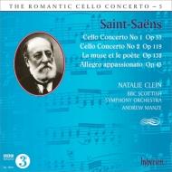 チェロ協奏曲第1番、第2番、ミューズと詩人たち、白鳥、他 クライン、マンゼ&BBCスコティッシュ響、他