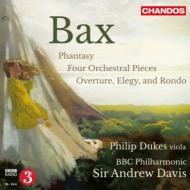 4つの管弦楽小品、ヴィオラと管弦楽のための幻想曲、『序曲、エレジーとロンド』 A.デイヴィス&BBCフィル、デュークス