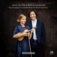 ヴァイオリンとピアノのための作品全集 ユリア・フィッシャー、ヘルムヘン(2SACD)