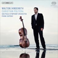 ウォルトン:チェロ協奏曲、パッサカリア、ヒンデミット:チェロ協奏曲、無伴奏チェロ・ソナタ ポルテラ、シップウェイ&サンパウロ響