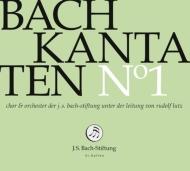 カンタータ集第1集〜第81、129、182番 ルドルフ・ルッツ&バッハ財団管弦楽団