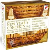 『レジェンダリー・モーメンツ・オブ・ニューイヤー・コンサート』2 ウィーン・フィル、C.クライバー、カラヤン、マゼール、メータ(3CD+DVD)