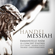 『メサイア』 エマニュエル・アイム&ル・コンセール・ダストレ(2CD)