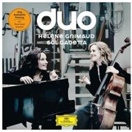 Duo -Schumann, Brahms, Debussy, Shostakovich : Gabetta(Vc)Grimaud(P)(2LP)