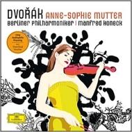 ヴァイオリン協奏曲、マズルカ、ロマンス、ユモレスク ムター、ホーネック&ベルリン・フィル、池場文美