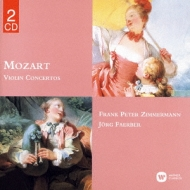 Comp.violin Concertos: F.p.zimmermann(Vn)Foerber / Wurttemberg Co