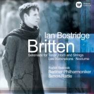 Illumination, Nocturne, Serenade: Bostridge(T)Rattle / Bpo Baborak(Hr)