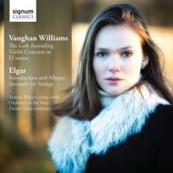 ヴォーン・ウィリアムズ:ヴァイオリン協奏曲、揚げひばり、エルガー:序奏とアレグロ、他 ウェーリー=コーエン、カーティス&オーケストラ・オブ・ザ・スワン
