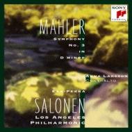 Sym, 3, : Salonen / Lapo A.larsen(A)+j.s.bach
