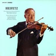 ロマンティックな組曲(ベンジャミン)、ヴァイオリン協奏曲(ロージャ):ハイフェッツ、RCAビクター交響楽団、他 (200グラム重量盤レコード/Analogue Productions/*CL)