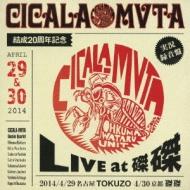 Cicala Mvta結成20周年記念 Live At 磔磔