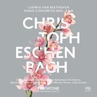 ピアノ協奏曲第5番『皇帝』、第3番 エッシェンバッハ、小澤征爾&ボストン響、ヘンツェ&ロンドン響