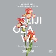 組曲『クープランの墓』、『マ・メール・ロワ』全曲、古風なメヌエット、他 小澤征爾&ボストン交響楽団