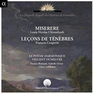 F.クープラン:ルソン・ド・テネブル (全3曲)、他 ヴァンサン・デュメストル、ル・ポエム・アルモニーク