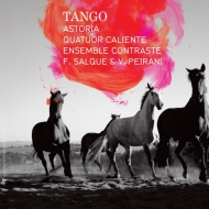 Tango : Astoria, Quatuor Caliente, Ensemble Contraste, Salque (Vc)Peirani(Accordion)(4CD)