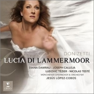 『ランメルモールのルチア』全曲 ロペス=コボス&ミュンヘン・オペラ管、ダムラウ、カレヤ、他(2013 ステレオ)(2CD)