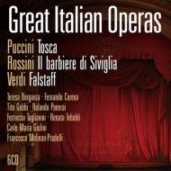 トスカ(テバルディ、ゴッビ)、セヴィリャの理髪師(ベルガンサ、ジュリーニ指揮)、ファルスタッフ(コレナ、ジュリーニ指揮)(1955、60 モノラル)(6CD)