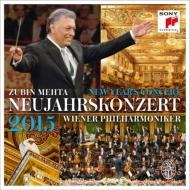 ニューイヤー・コンサート2015:ズービン・メータ指揮&ウィーン・フィルハーモニー管弦楽団 (3枚組アナログレコード/Sony Classical)