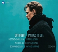 『冬の旅』『美しい水車小屋の娘』『白鳥の歌』 ボストリッジ、アンスネス、内田光子、パッパーノ、ドレイク(3CD+DVD)