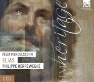 『エリヤ』 ヘレヴェッヘ&シャンゼリゼ管弦楽団、コレギウム・ヴォカーレ(2CD)