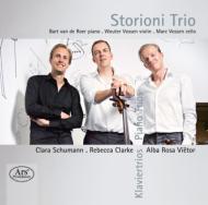 C.schumann, R.clarke, Vietor: Piano Trio: Storioni Trio