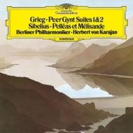 グリーグ:『ペール・ギュント』組曲、シベリウス:『ペレアスとメリザンド』 カラヤン&ベルリン・フィル(1982)(シングルレイヤー)