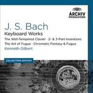 平均律クラヴィーア曲集全曲、フーガの技法、インヴェンションとシンフォニア、他 ケネス・ギルバート(10CD)