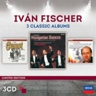 バルトーク:中国の不思議な役人、リスト:ファウスト交響曲、ブラームス:ハンガリー舞曲全曲 イヴァン・フィッシャー&ブダペスト祝祭管(3CD)