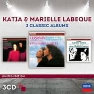 ガーシュウィン:ラプソディ・イン・ブルー(2台ピアノ版)、ブラームス:ハンガリー舞曲全曲、ドヴォルザーク:スラヴ舞曲全曲 ラベック姉妹(3CD)