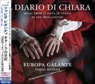 Il Diario Di Chiara-music For La Pieta In Venice: Biondi(Vn, Va D'amore)Europa Galante
