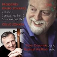 ピアノ・ソナタ集第2集−第9番、第10番、チェロ・ソナタ、他 ピーター・ドノホー、ラファエル・ウォルフィッシュ