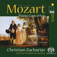 ピアノ協奏曲第27番、第22番 クリスティアン・ツァハリアス、ローザンヌ室内管弦楽団