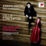 ハイドン:チェロ協奏曲第1番、第2番、アザラシヴィリ:チェロ協奏曲 ホルヌング、マナコルダ&カンマーアカデミー・ポツダム