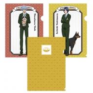 クリアファイル3枚セット[PRINCE&DOGS!] 「幸村・仁王」 新テニスの王子様