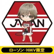 ハニカム型マグネット 白石蔵ノ介 新テニスの王子様【ローソン・HMV限定】