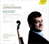 ヴァイオリン協奏曲第1、3、4番 ツィンマーマン、スルク&バイエルン放送室内管
