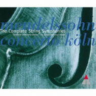弦楽のための交響曲全集 コンチェルト・ケルン(3CD)