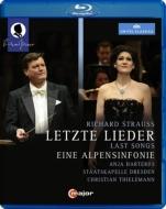 アルプス交響曲、4つの最後の歌、あおい(リーム編曲管弦楽伴奏版)、他 ティーレマン&シュターツカペレ・ドレスデン、ハルテロス