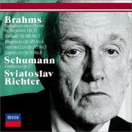 Brahms Paganini Variations, Schumann Fantasie, etc : Sviatoslav Richter(P)