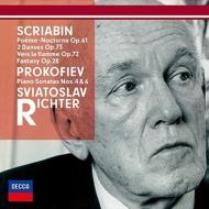 プロコフィエフ:ピアノ・ソナタ第4番、第6番、スクリャービン:焔に向かって、他 リヒテル
